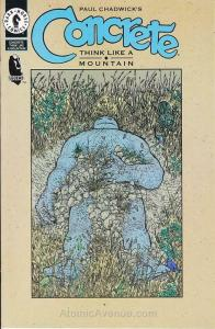 Concrete: Think Like a Mountain Ashcan #1 VF/NM; Dark Horse | save on shipping -