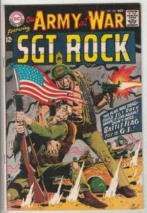 Our Army at War #185 (Oct-67) FN/VF+ Mid-High-Grade Easy Company, Sgt. Rock