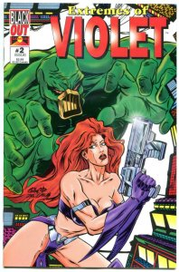 EXTREMES of VIOLET #2, VF/NM, Jacobsen, Marden, 1995, more indies in store