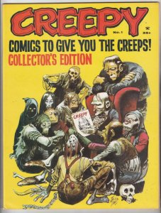 Creepy Magazine #1 (Jan-72) NM- High-Grade Creepy