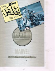 Lot Of 4 X-Men 198 Marvel Comic Books # 1 2 3 + Files One Shot Wolverine TW26