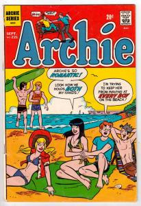 Archie #221 (Sep-72) VF+ High-Grade Archie