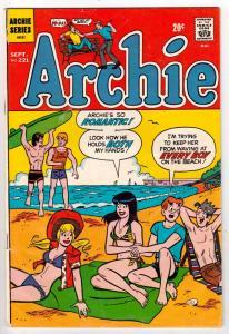 Archie #221 (Sep-72) VF+ High-Grade Archie
