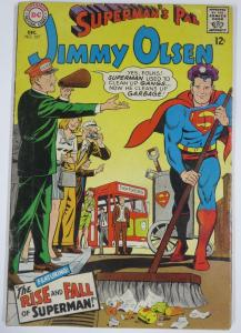SUPERMAN'S PAL, JIMMY OLSEN #107 VG+ DC COMICS