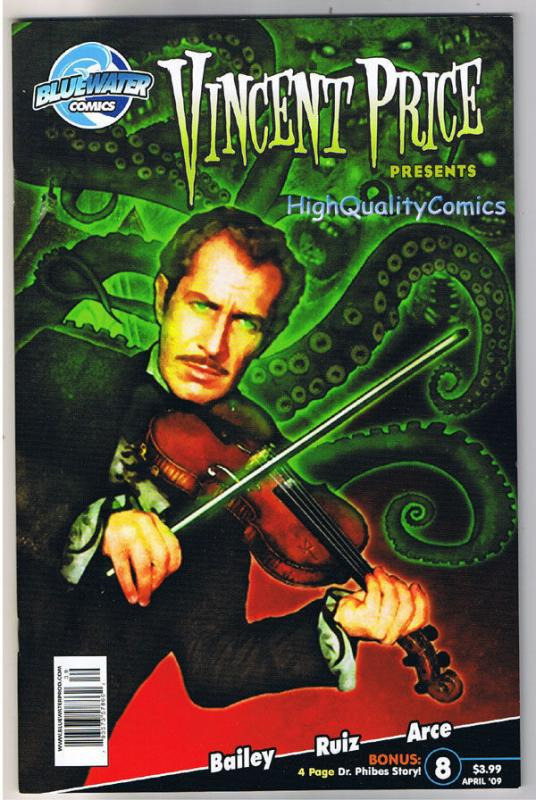 VINCENT PRICE #8, NM, Horror, Joel Robinson, 2008, more VP in store
