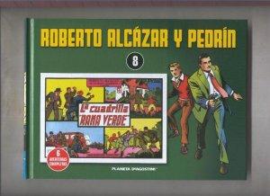 Roberto Alcazar y Pedrin volumen 08: La cuadrina Rana Verde