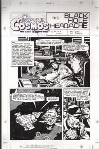 Captain Cosmos The Last Starveyer -2004-Nicola Cuti-Joe Staton-rockets-robots-FN