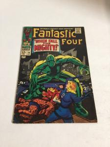 Fantastic Four 70 Vg/Fn Very Good/Fine 5.0 Marvel Comics Silver Age