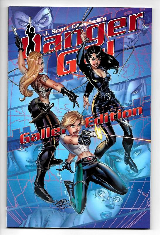 J Scott Campbell Danger Girl Gallery Edition (IDW, 2018) NM
