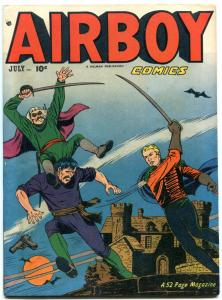 Airboy Comics Vol 8 #6- HEAP POP WARNER EGYPTIAN COLLECTION VF