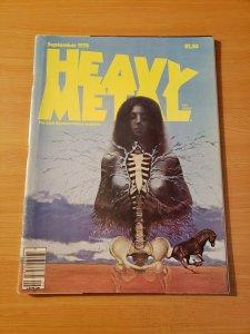 Heavy Metal Vol. 2 #5 ~ FINE VERY FINE VF ~ September 1978 illustrated Magazine