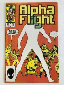 Alpha Flight #25 Marvel 1985 VF+