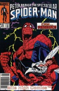 PETER PARKER (1976 Series)  (SPECTACULAR SPIDER-MAN) #106 NEWSSTAND Very Good