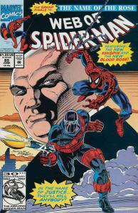 Web of Spider-Man, The #89 FN; Marvel | save on shipping - details inside