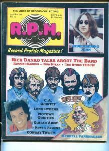 Record Profile Magazine #10 1985-Bob Dylan-Byrds-John Lennon-Motown-VG