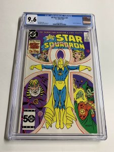 All-star Squadron 47 Cgc 9.6 White Pages Dc Comics Early Todd Mcfarlane Art
