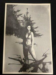 Jeff Jpnes Original Female Warrior Print 14x21 --1970