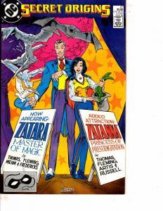 Lot Of 2 Comic Books DC Secret Origins #27 and Green Lantern #16 Batman ON11