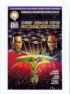 Star Trek Deep Space Nine Lot of 4 #1 Issues Malibu / DC Comics 1993 1994 NM