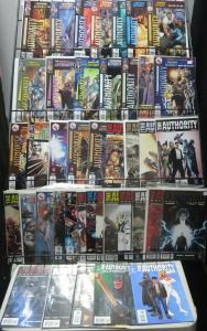 AUTHORITY MEGA-SAMPLER! Wildstorm, 41 issues! VF/+ Warren Ellis, Frank Quitely