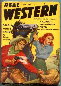 Real Western Pulp April 1942- Archie Joselyn- Stephen Payne VG+