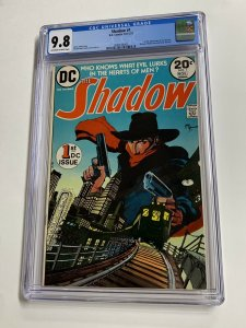 The Shadow #1 CGC graded 9.8