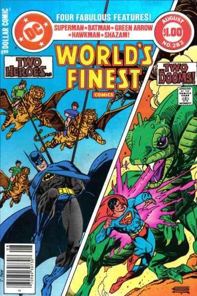 World's Finest Comics #282, VF- (Stock photo)