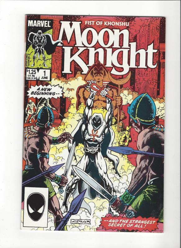 Moon Knight:Fist Of Khonshu #1 (1985) NM