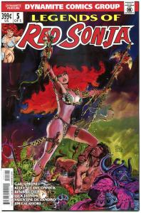 LEGENDS of RED SONJA #5, NM-, She-Devil, Sword,  Thorne, 2013, more RS in store