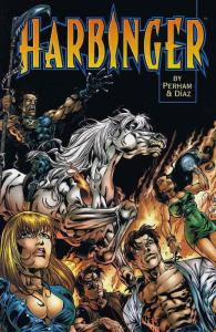 Harbinger: Acts of God #1 VF/NM; Acclaim   save on shipping - details inside
