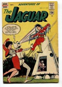 Adventures of the Jaguar #9 1962- Archie comics- Robot cover-  FN