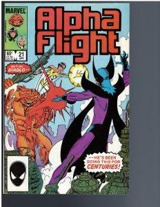 Alpha Flight #21 (1985)