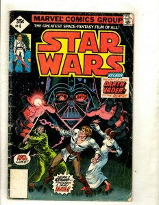 Lot Of 5 Star Wars Marvel Comic Books # 4 7 10 11 + Annual # 2 Jedi R2D2 HJ9