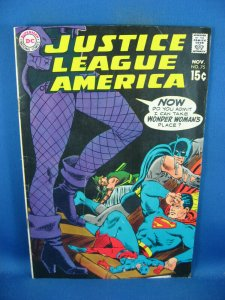 JUSTICE LEAGUE OF AMERICA 75 VG F BLACK CANARY GREEN ARROW 1969