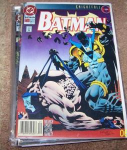 BATMAN #500  KNIGHTFALL PT19  double size issue AZRAEL BANE