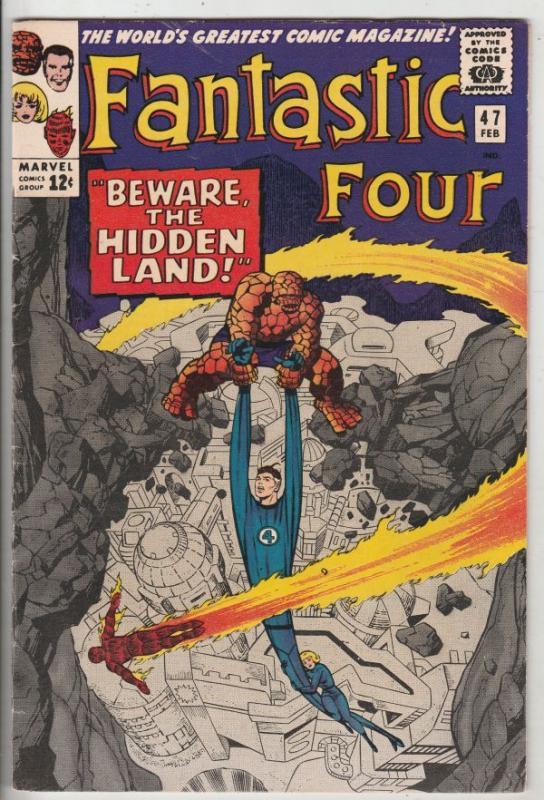 Fantastic Four #47 (Feb-66) VF/NM High-Grade Fantastic Four, Mr. Fantastic (R...