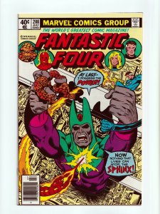 Fantastic Four #208 Sphinx Appearance Marvel Comics 1979 NM-