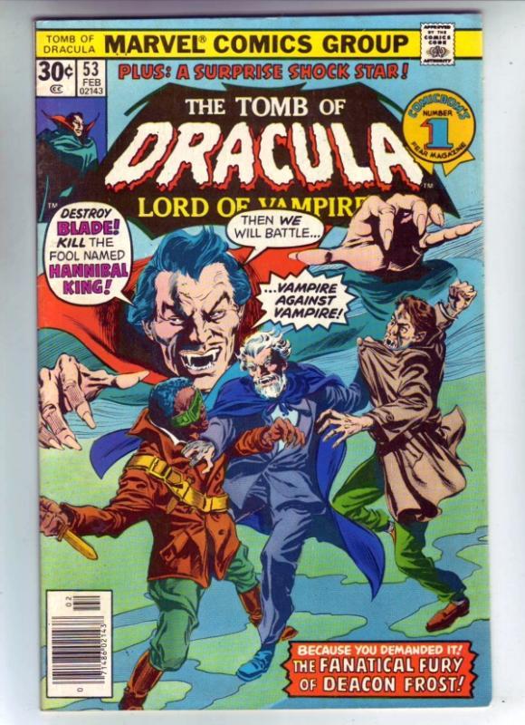 Tomb of Dracula #53 (Feb-77) VF/NM High-Grade Dracula