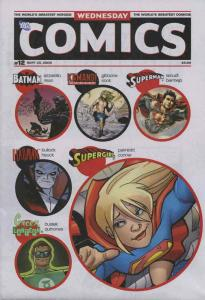 Wednesday Comics #12 VF/NM; DC | save on shipping - details inside