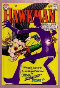HAWKMAN #5 1964-SHADOW THIEF-MURPHY ANDERSON ART-DC VG/FN