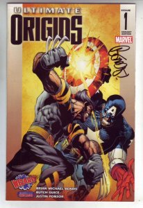 Utimate Origins Wizard Chicago Signed #1 (Aug-08) NM+ Super-High-Grade