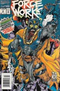 Force Works #4 (Newsstand) FN; Marvel | save on shipping - details inside