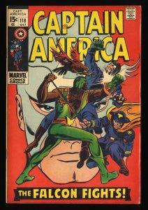 Captain America #118 VG+ 4.5 2nd Falcon!