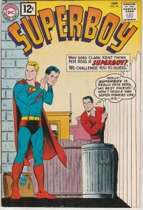 Superboy #94 (Jan-62) VF/NM High-Grade Superboy