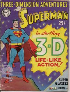 DC Comics,1953,3D,Three Dimension Adventures of SUPERMAN,Jerry Siegel,Curt Swan