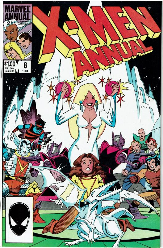 X-Men Annual #8, 9.4 or better, Kitty Pryde Story