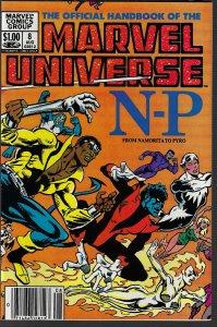 Marvel Universe #8 (Marvel, 1983) NM