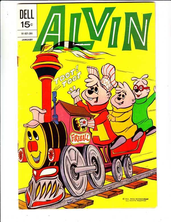 Alvin #23 (Jan-72) VF High-Grade Alvin, Theodore, Simon, Dave
