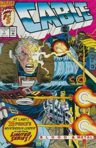 CABLE BLOOD & METAL (1992) 1-2  X-Men / Mutant Spinoff!