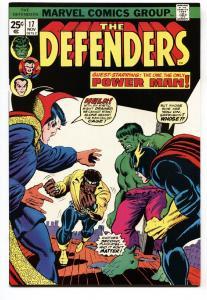 THE DEFENDERS #17-High Grade-Luke Cage joins DEFENDERS comic book